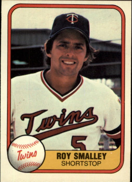 1981 Fleer #551 Roy Smalley