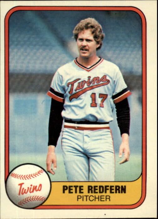 1981 Fleer #560 Pete Redfern