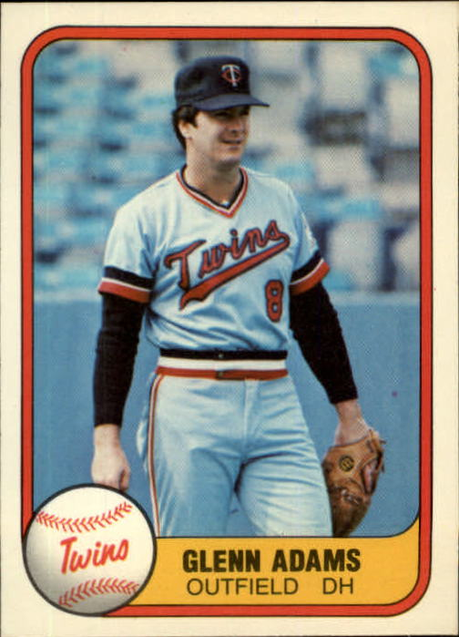 1981 Fleer #562 Glenn Adams