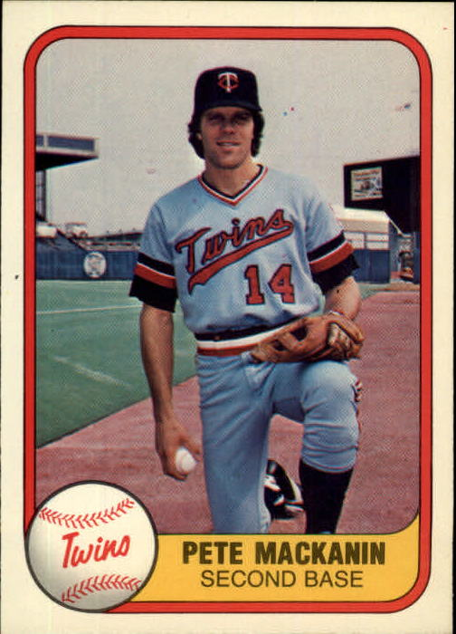1981 Fleer #565 Pete Mackanin