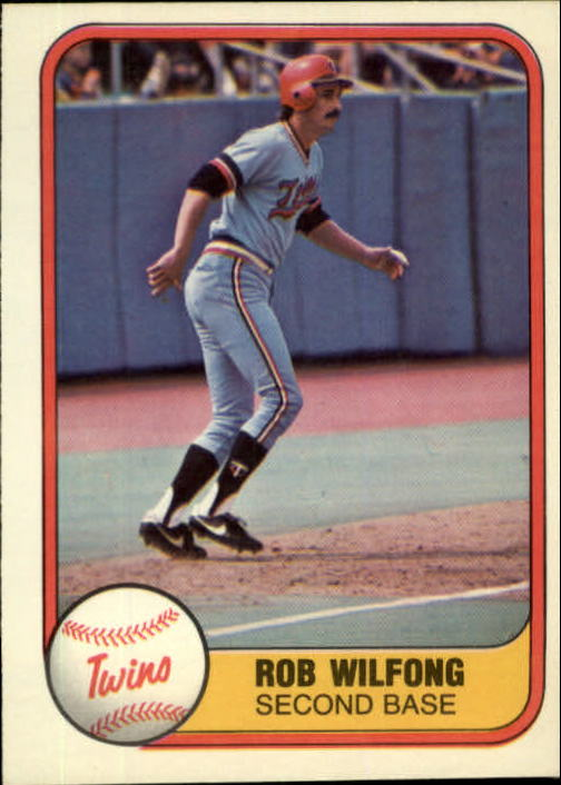 1981 Fleer #569 Rob Wilfong