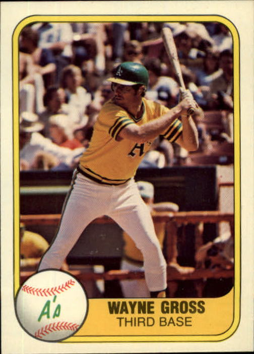 1981 Fleer #587 Wayne Gross