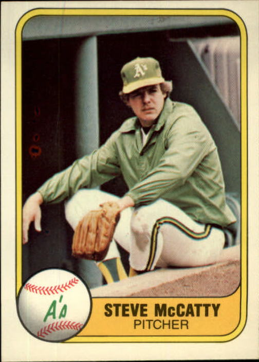 1981 Fleer #589 Steve McCatty