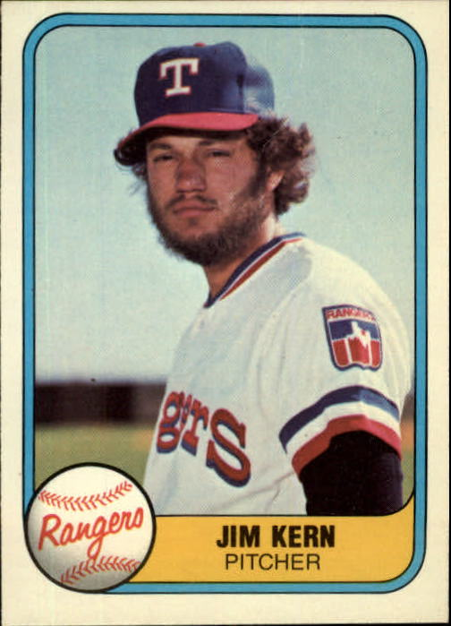 1981 Fleer #618 Jim Kern