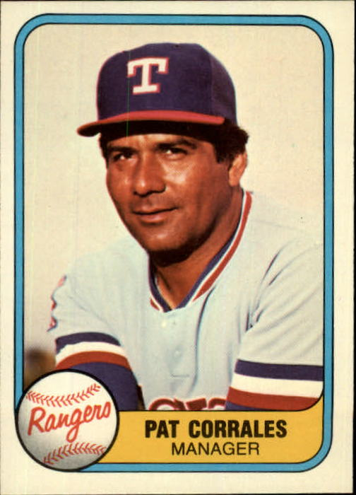 1981 Fleer #623 Pat Corrales MG