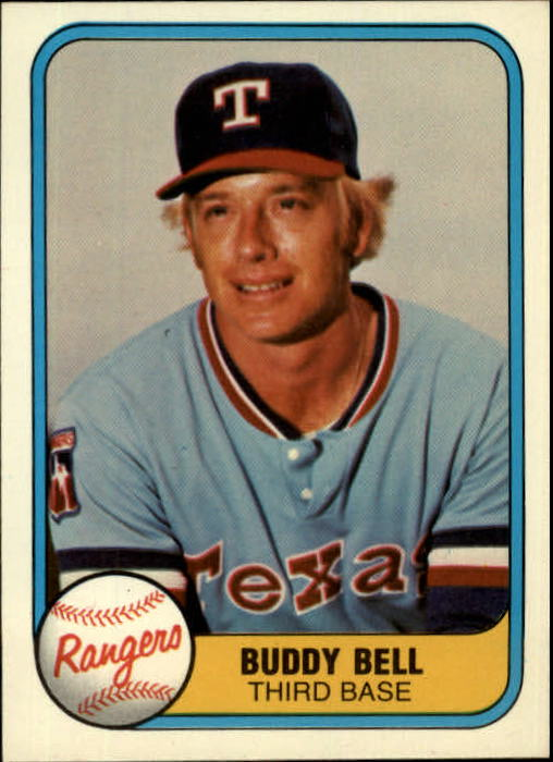 1981 Fleer #625 Buddy Bell