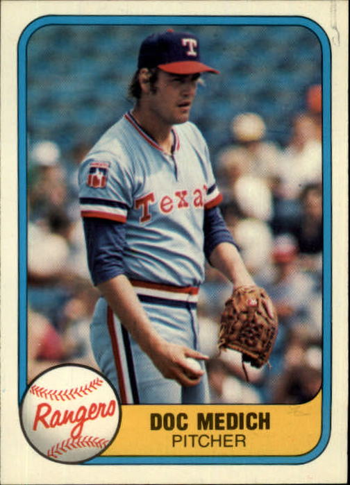 1981 Fleer #627 Doc Medich