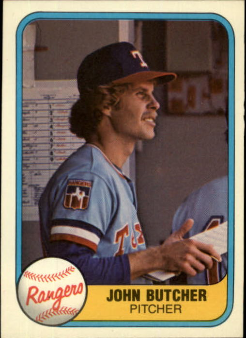 1981 Fleer #635 John Butcher