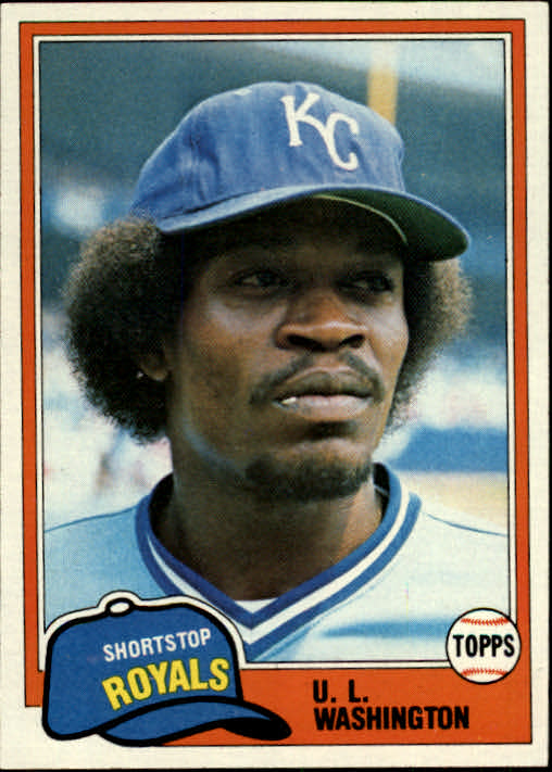 1981 Topps #26 U.L. Washington