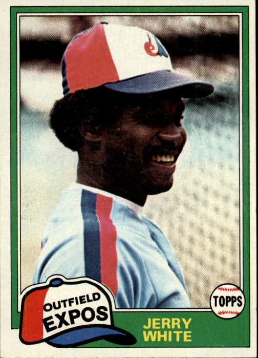 1981 Topps #42 Jerry White DP