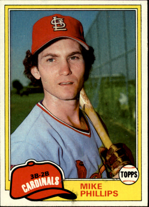1981 Topps #113 Mike Phillips