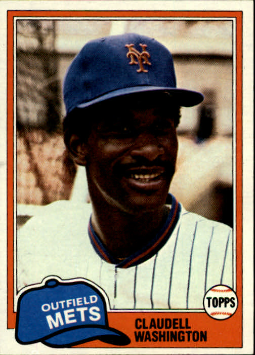 1981 Topps #151 Claudell Washington