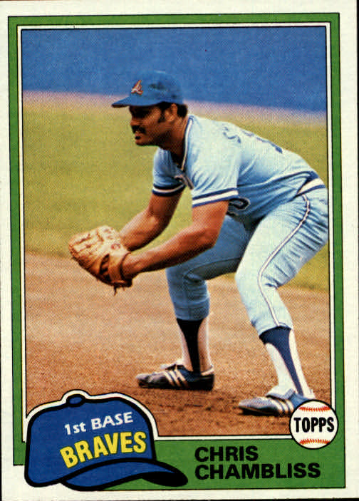1981 Topps #155 Chris Chambliss