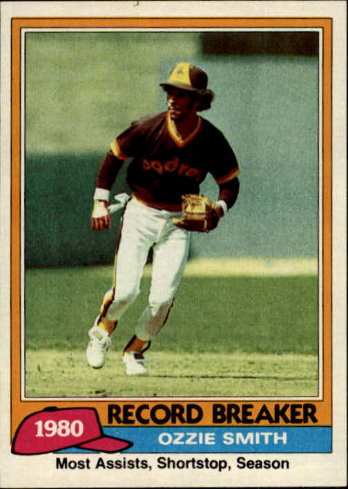 1981 Topps #207 Ozzie Smith RB