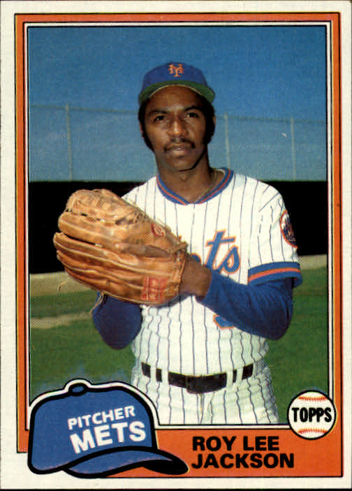 1981 Topps #223 Roy Lee Jackson RC