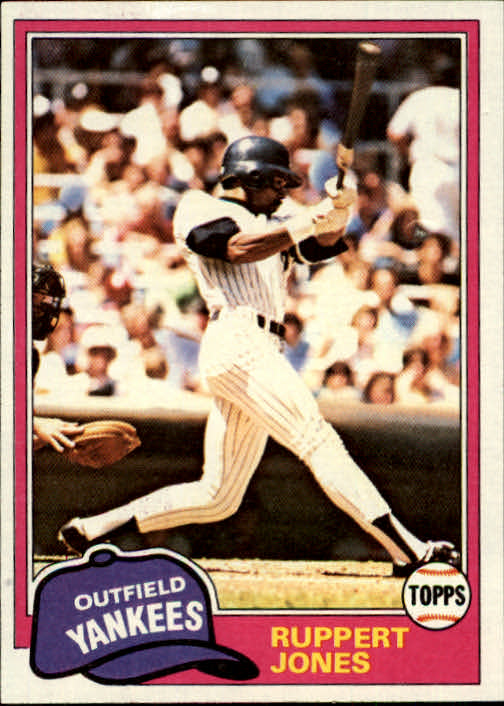 1981 Topps #225 Ruppert Jones