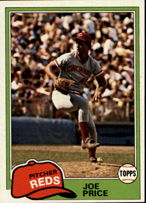 1981 Topps #258 Joe Price RC