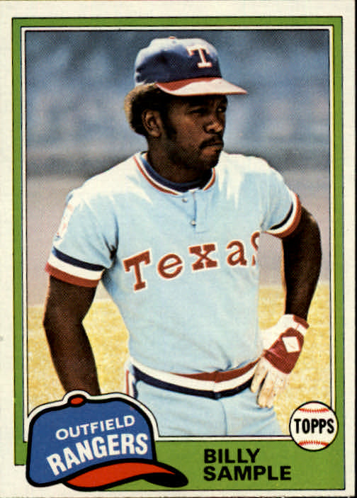 1981 Topps #283 Billy Sample