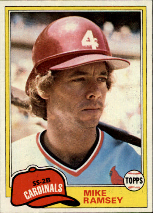 1981 Topps #366 Mike Ramsey RC