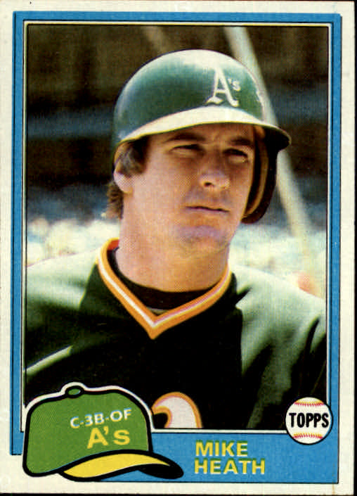 1981 Topps #437 Mike Heath DP