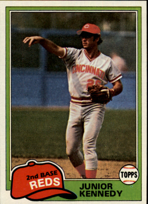 1981 Topps #447 Junior Kennedy DP