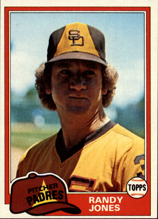 1981 Topps #458 Randy Jones