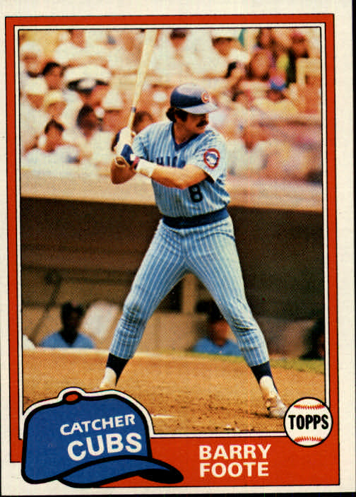 1981 Topps #492 Barry Foote
