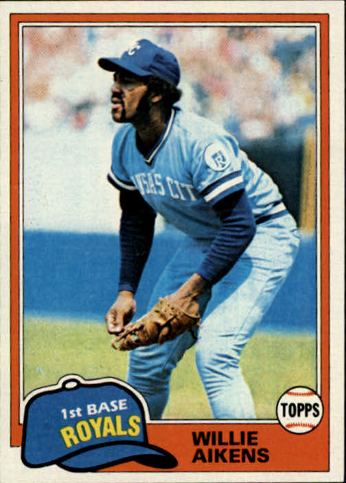 1981 Topps #524 Willie Aikens