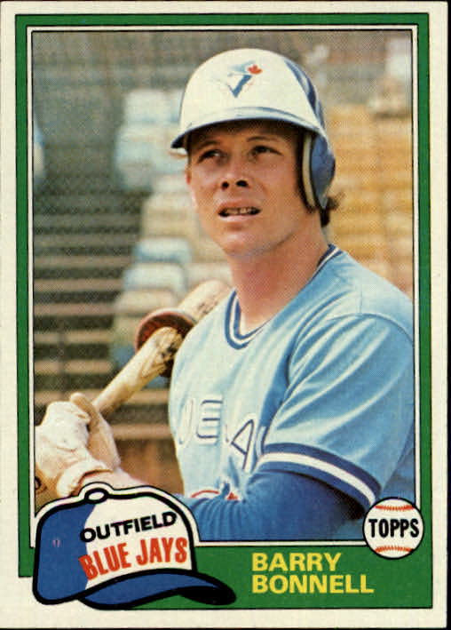 1981 Topps #558 Barry Bonnell