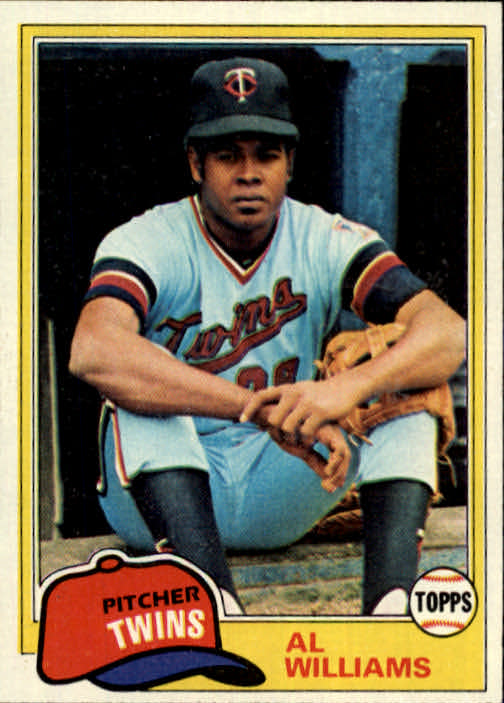 1981 Topps #569 Al Williams DP RC