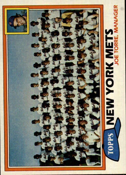 1981 Topps #681 Mets Team CL/Joe Torre MG