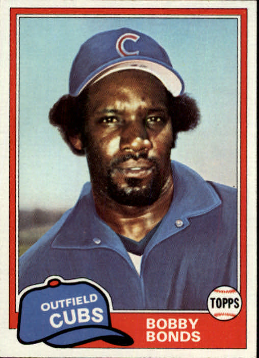 1981 Topps Traded #740 Bobby Bonds