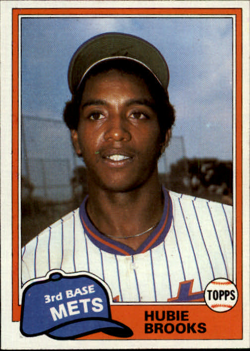 1981 Topps Traded #742 Hubie Brooks