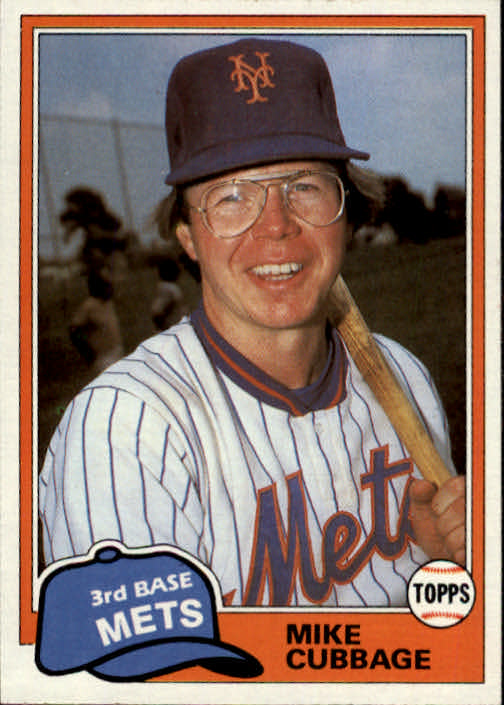 1981 Topps Traded #752 Mike Cubbage