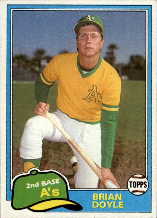 1981 Topps Traded #754 Brian Doyle