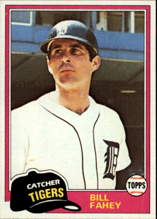 1981 Topps Traded #760 Bill Fahey