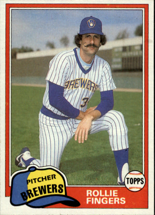 1981 Topps Traded #761 Rollie Fingers