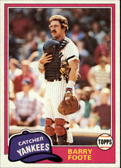 1981 Topps Traded #763 Barry Foote