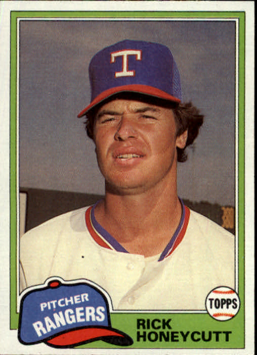1981 Topps Traded #772 Rick Honeycutt