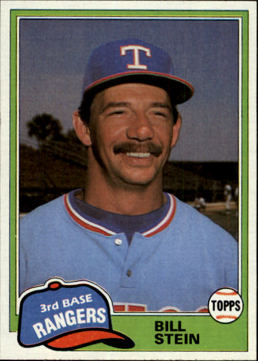 1981 Topps Traded #836 Bill Stein