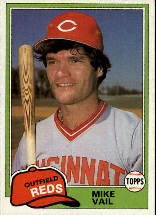1981 Topps Traded #848 Mike Vail