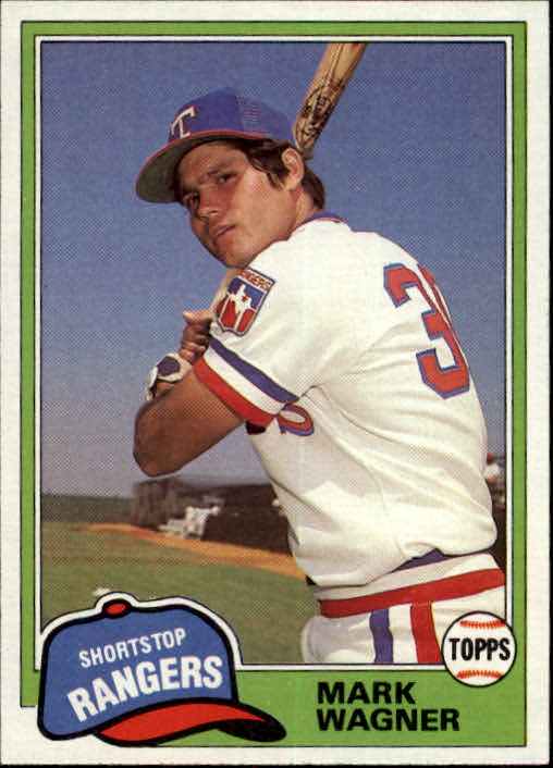 1981 Topps Traded #852 Mark Wagner