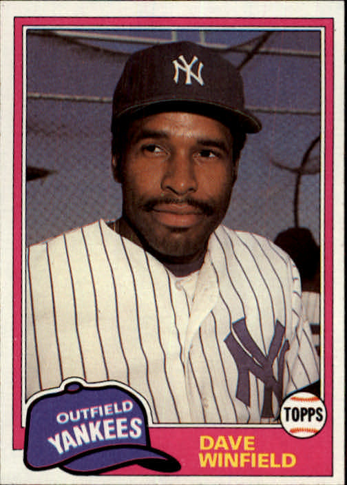 1981 Topps Traded #855 Dave Winfield