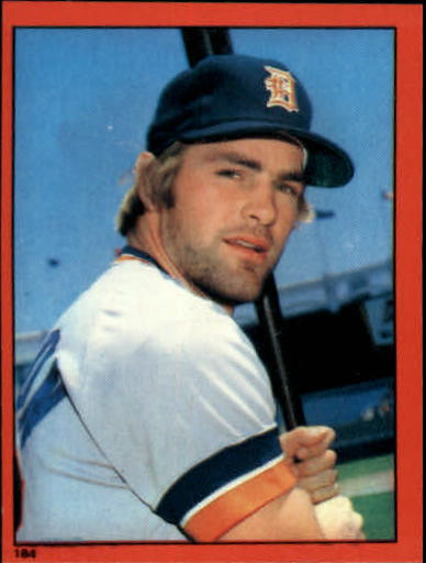 1982 O-Pee-Chee Stickers #184 Kirk Gibson