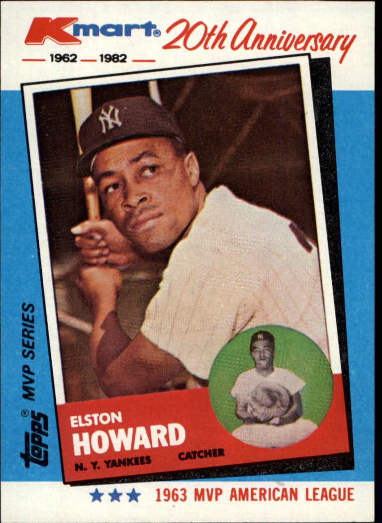 1982 K-Mart #3 Elston Howard: 63AL front image