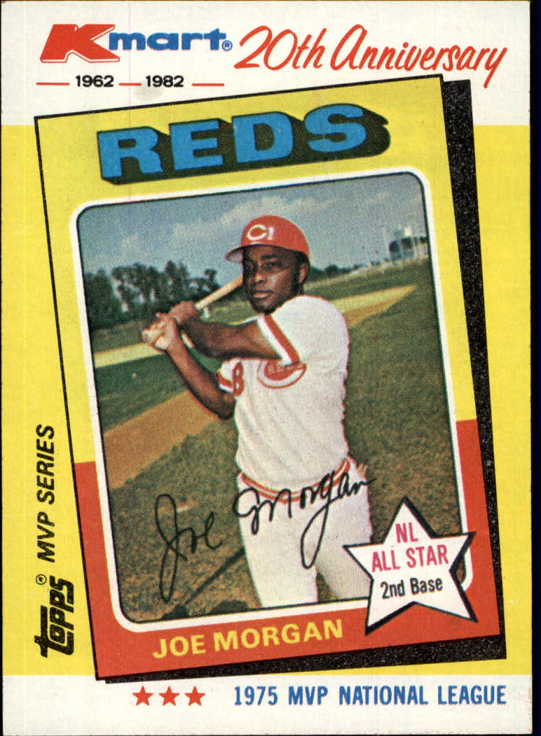 1982 K-Mart #28 Joe Morgan: 75NL