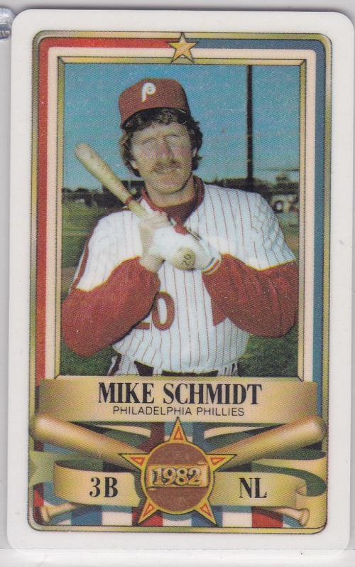 1982 Perma-Graphic All-Stars #17 Mike Schmidt