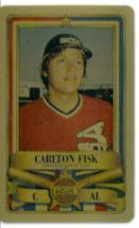 1982 Perma-Graphic All-Stars Gold #3 Carlton Fisk