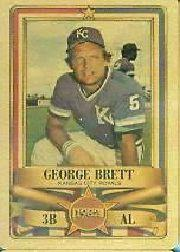 1982 Perma-Graphic All-Stars Gold #9 George Brett