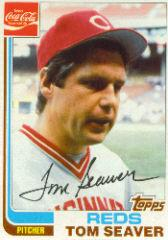 1982 Reds Coke #19 Tom Seaver